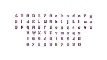full set of alphabets