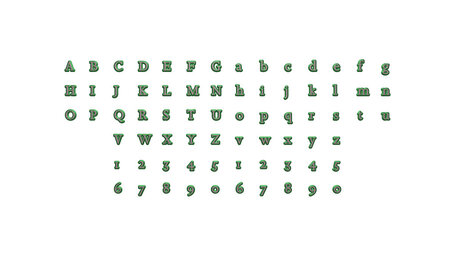 full set of alphabets