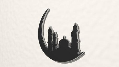Arabic mosque