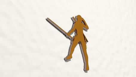 sword woman