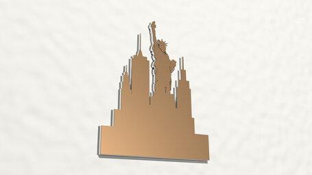 Status of Liberty symbol of New York
