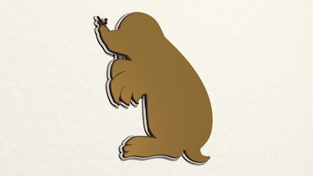 small mole animal