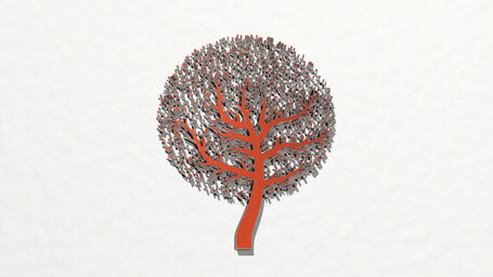 tree of music with notes