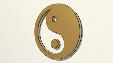 Chinese yin and yang symbol