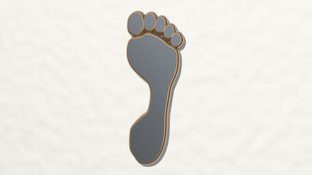 foot sole sign