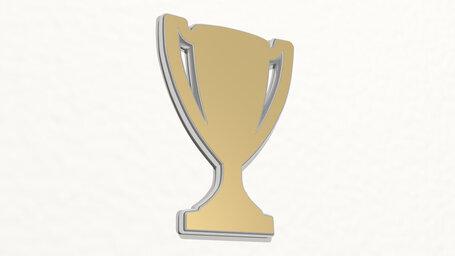 athletic trophy