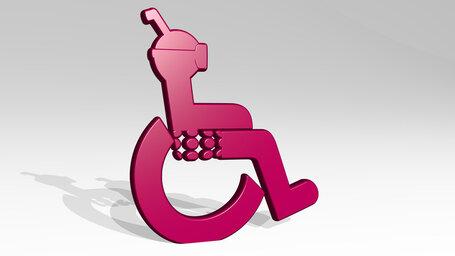 wheelchair diver
