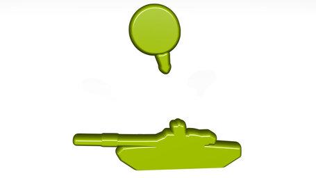 targeting military tank