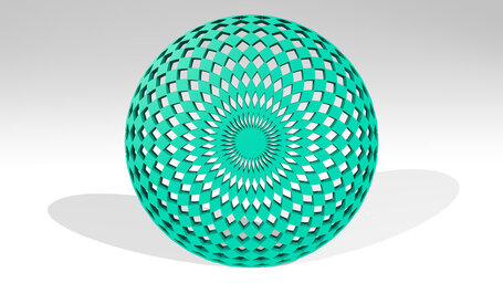hypnotic pattern in circle