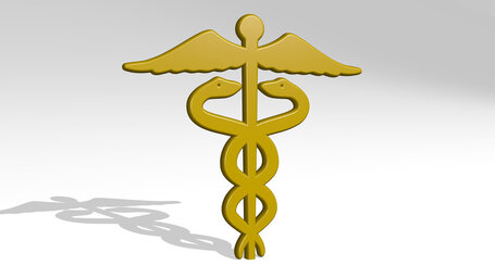 medical snakes sign