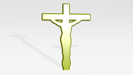 Jesus Chris crucified on cross