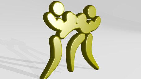 boxing sport symbol