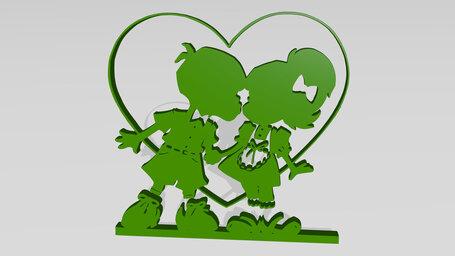 kids with heart romance