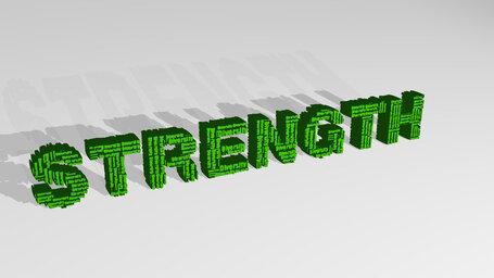 STRENGTH word