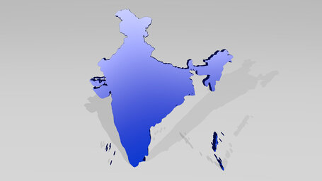 man of India