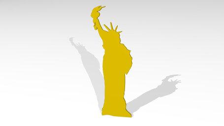 US statue of liberty