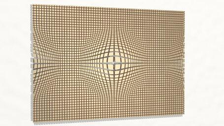 pattern of geometrical illusion