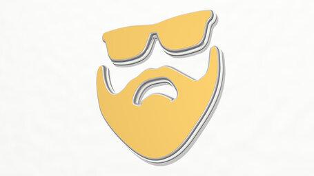 man with beard and sunglasses