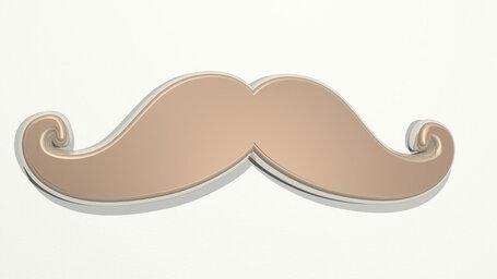 men moustache