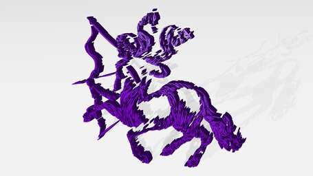 drawing o centaur horse with human head