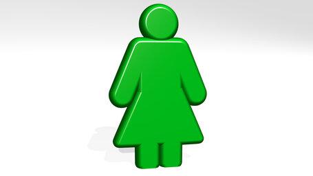 minimalist woman body