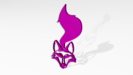 fox head and tail