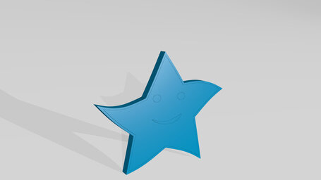 curved star