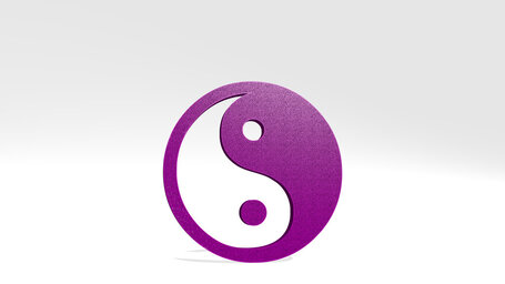 Chinese yin and yang symbol