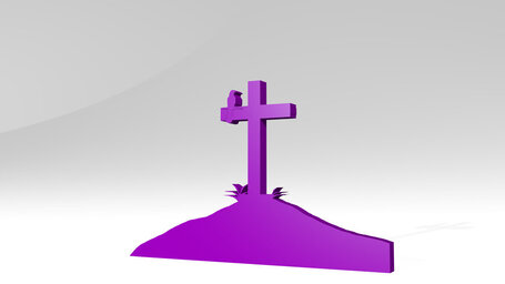 cross and grave