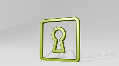 keyhole square