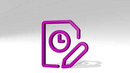 time clock file edit