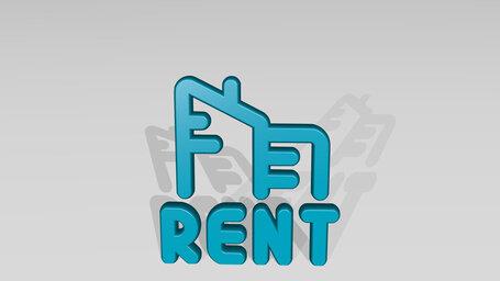real estate sign building rent