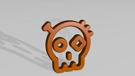 steampunk decoration dia de los muertos