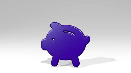 saving piggy bank