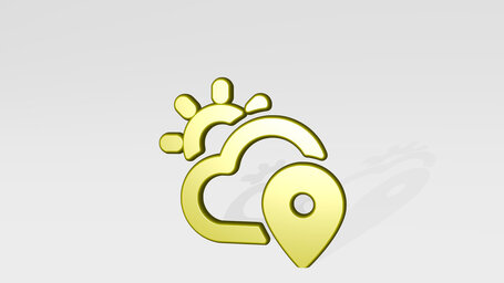 weather app sun cloud location