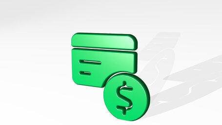 credit card dollar