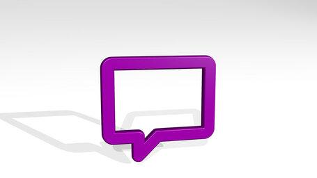 messages bubble square alternate