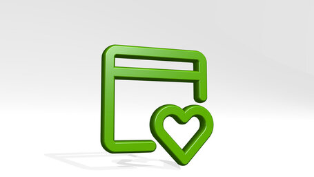 app window heart