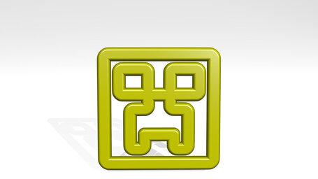 video game logo creeper