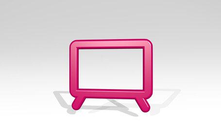modern tv wide