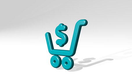 shopping cart cash