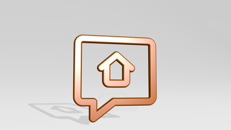 real estate message house