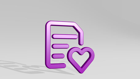common file text heart