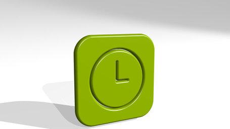 time clock circle