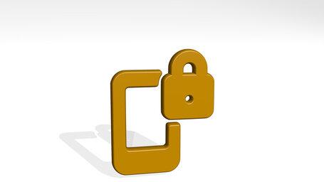 phone action lock