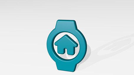 smart watch circle home alternate