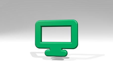 modern tv flat