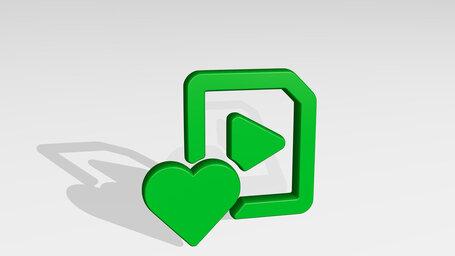 video file heart