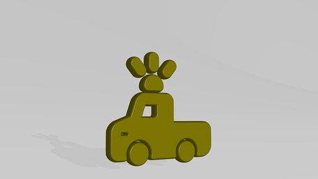 car repair rotating light