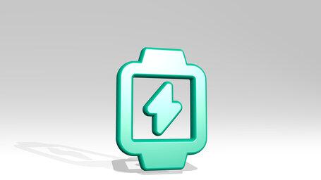 smart watch square flash alternate